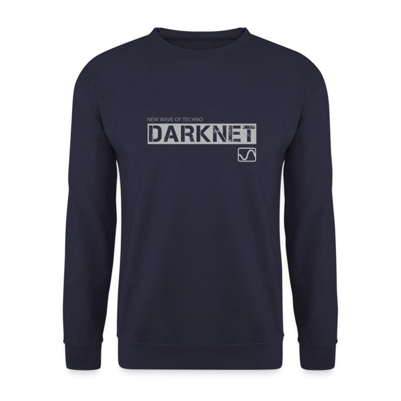 Darknet - Label Sweat Shirt / Navy - Men's Sweatshirt