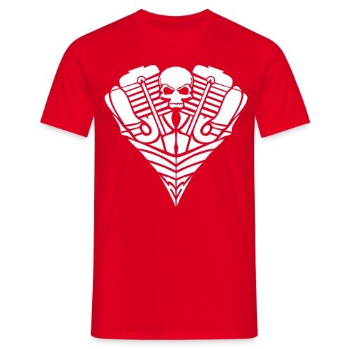 Rebel Skull - Männer T-Shirt