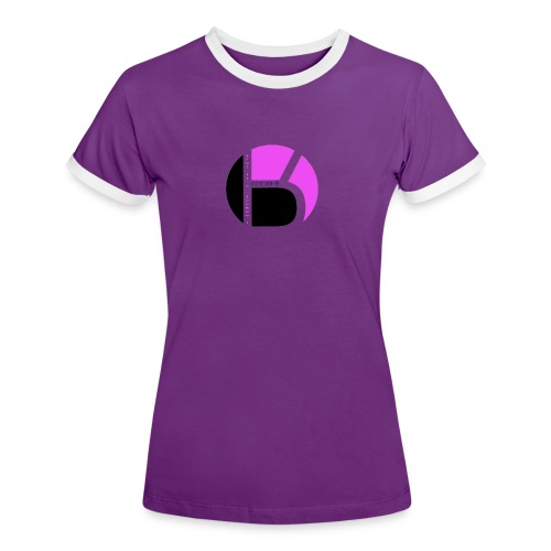 contrast-R  for Girls - Women's Ringer T-Shirt