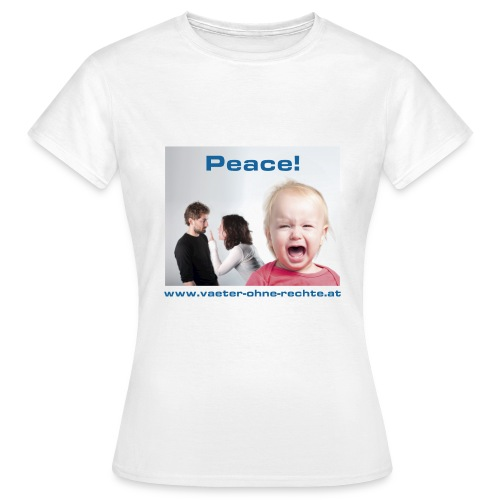 T-Shirt Peace - Frauen T-Shirt