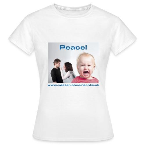 T-Shirt Peace - Frauen T-Shirt