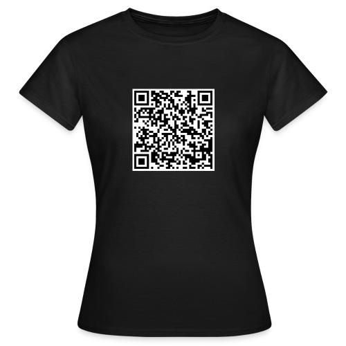 QR Code Anonymous - T-shirt Femme