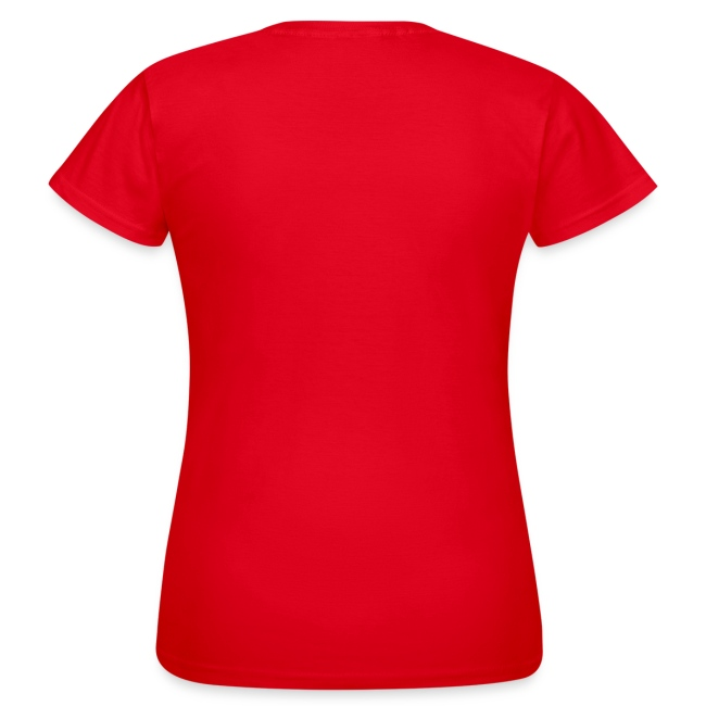 T-Shirt Women - Red - Gaia Epicus Logo