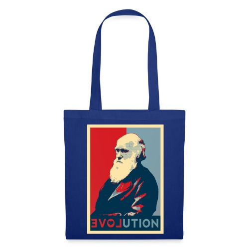 I love evolution - shopper - Borsa di stoffa