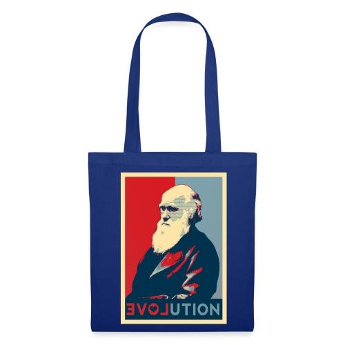 I love evolution - shopper - Borsa di stoffa