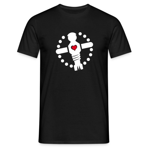 KKL Logo - schwarz (boys) - Männer T-Shirt