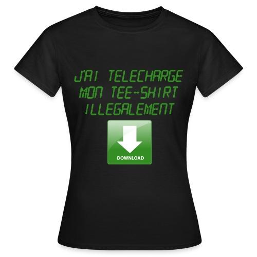 Download Tee-Shirt - T-shirt Femme