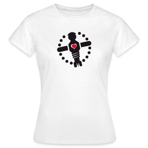 KKL Logo - weiß (girls) - Frauen T-Shirt
