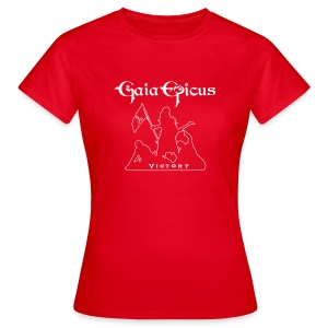 T-Shirt Woman - Red - Gaia Epicus - Victory 1 - Women's T-Shirt