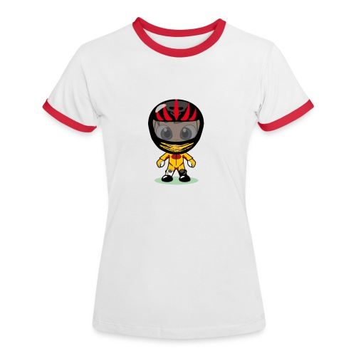Biker for Ladies - Frauen Kontrast-T-Shirt