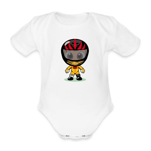 Biker for Babies - Baby Bio-Kurzarm-Body