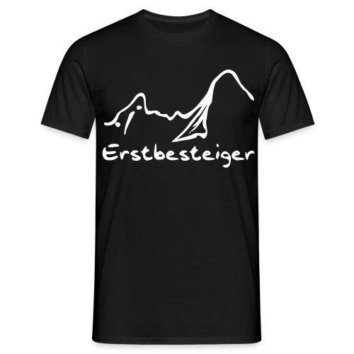 Männer Basis T-Shirt Erstbesteiger - Männer T-Shirt