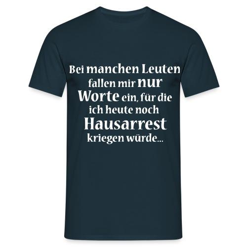 HERREN T-SHIRT KLASSISCH - Männer T-Shirt