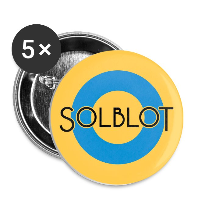 Solblot Button