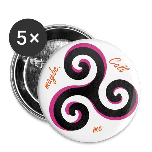 Call me maybe.-Button - Buttons groß 56 mm
