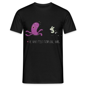 Monsters Lovers Man Shirt - He who feels from love, wins - Maglietta da uomo