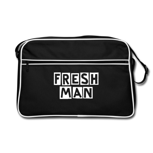 Freshman Cutter Messenger Bag - Retro Bag
