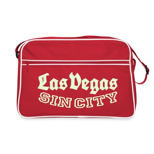LAS VEGAS SIN CITY - Retro Bag