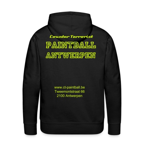 Counter Terrorist Paintball - Mannen Premium hoodie