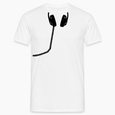 Headphones, DJ, headset, music, bass, sound, headphone T-Shirts