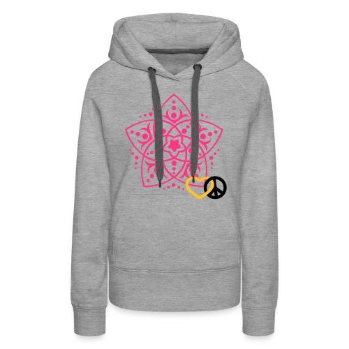 Damen Pullover mit Venusblume - Frauen Premium Hoodie