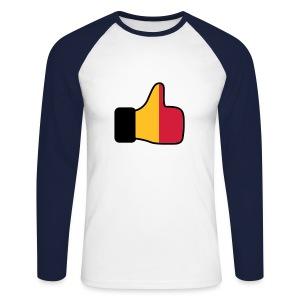I LIKE ESPANA tEE - Men's Long Sleeve Baseball T-Shirt