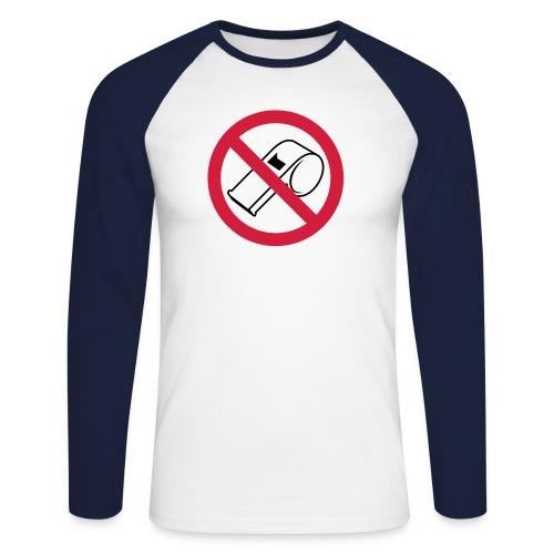 NO REF TEE - Men's Long Sleeve Baseball T-Shirt