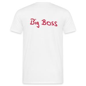 BiggesttMonkeyy BigBoss Redprint - Mannen T-shirt