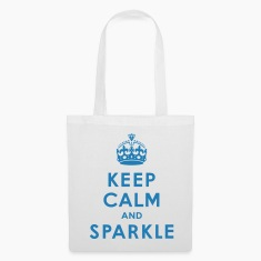 Keep Calm and Sparkle Bags