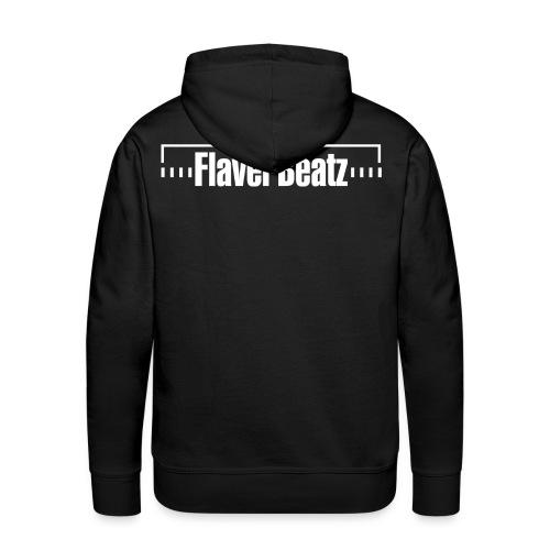 FlaverBeatz - Kaputzenpulli (abb. Rücken)  - Männer Premium Hoodie