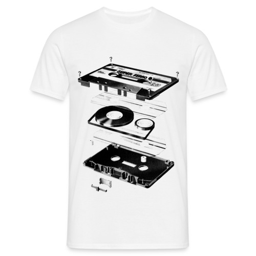 music tape shirt men - Mannen T-shirt