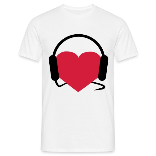 love music men shirt - Mannen T-shirt
