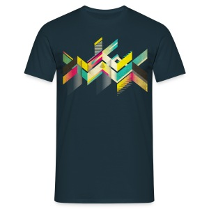 T13M - GEOMETRIC_CLEAN - T-shirt Homme