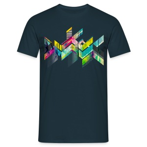 T13M - GEOMETRIC_DIRTY - T-shirt Homme