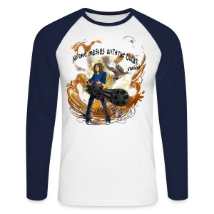 Long-sleeve King of Ducks  - Men's Long Sleeve Baseball T-Shirt