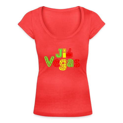 J'aime Vegas - Women's Scoop Neck T-Shirt