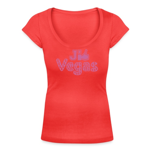 J'aime Vegas, je like Vegas, j'like vegas - Women's Scoop Neck T-Shirt