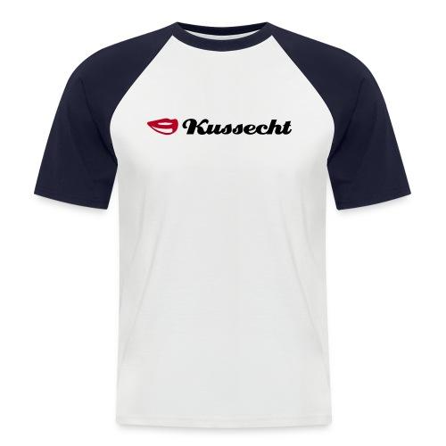 Kussecht - Männer Baseball-T-Shirt