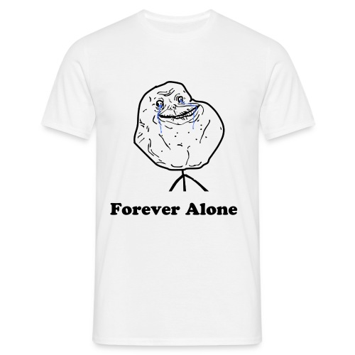 T-shirt Forever Alone - T-shirt Homme