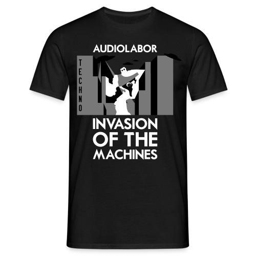 Invasion Of The Machines Shirt - Men's T-Shirt