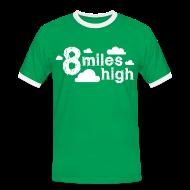 T-Shirts ~ Men's Ringer Shirt ~ 8 miles High