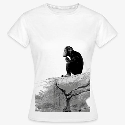 Music Monkey - Women's T-Shirt