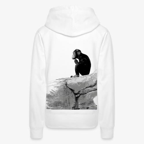 Music Monkey - Women's Premium Hoodie