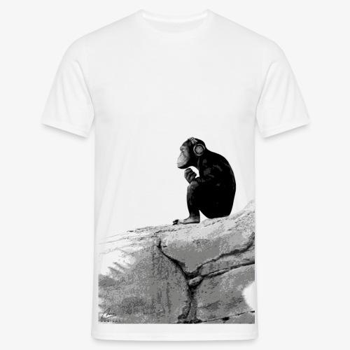 Music Monkey - Men's T-Shirt