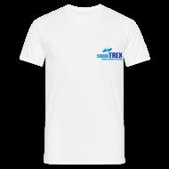 T-shirts ~ T-shirt herr ~ SnowTrex Shirt white