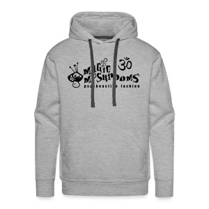 OM / Magic Mushrooms (Flockdruck) - Männer Premium Hoodie