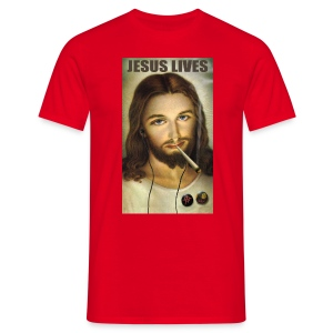 Jesus Lives - Men's T-Shirt