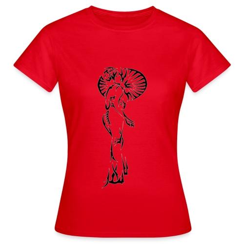 Tribal Geisha - Frauen T-Shirt