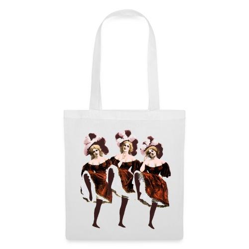Vintage Dancers Tote Bag - Tote Bag