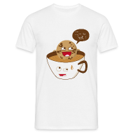 Tee shirts ~ Tee shirt Homme ~ Cookie & Coffee - Basique H